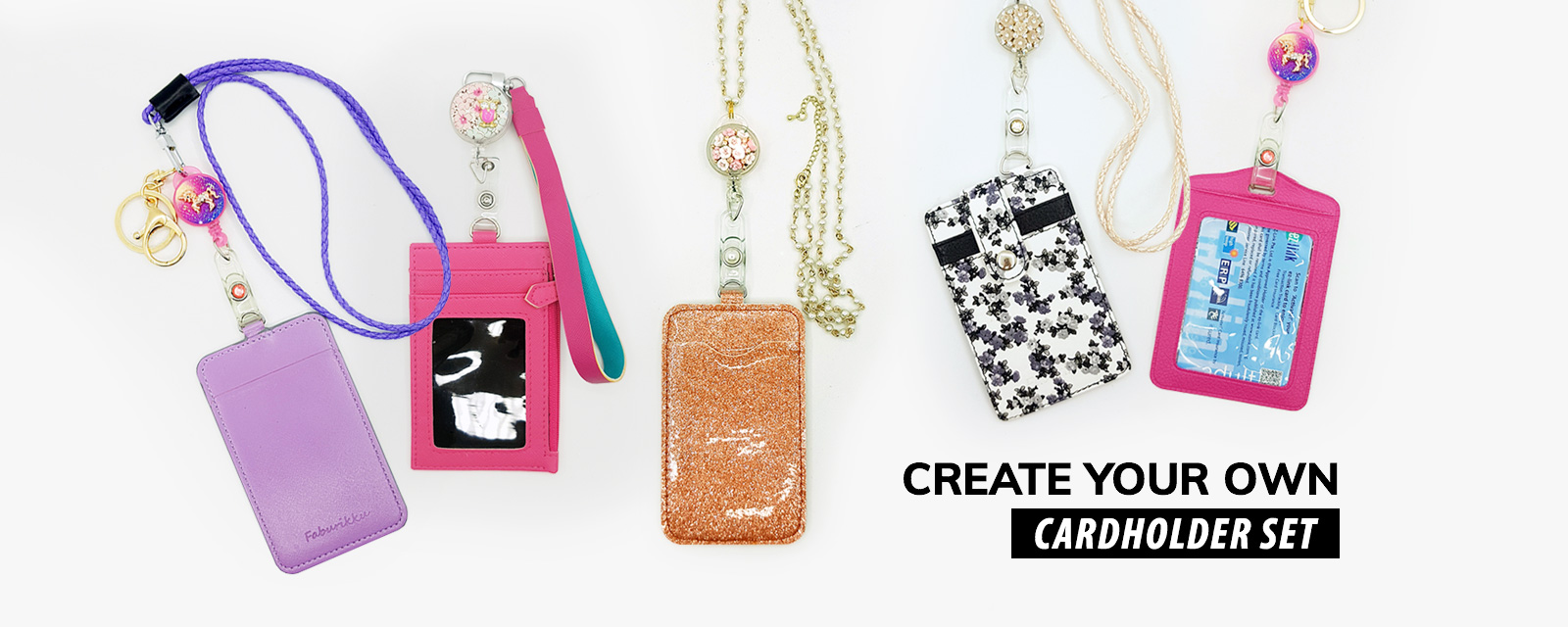 CREATE YOUR OWN CARDHOLDER SET