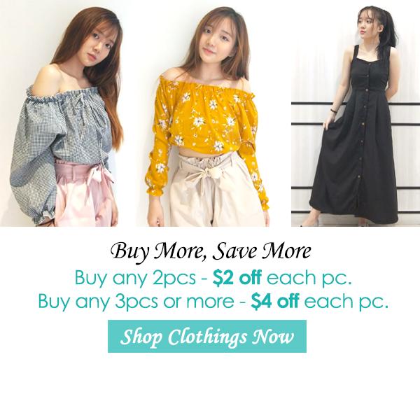 Clothing price promo